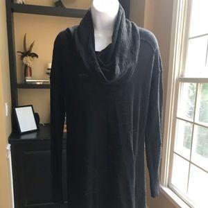 Ruby Moon (Anthropologie Brand) Black Cowl Neck
